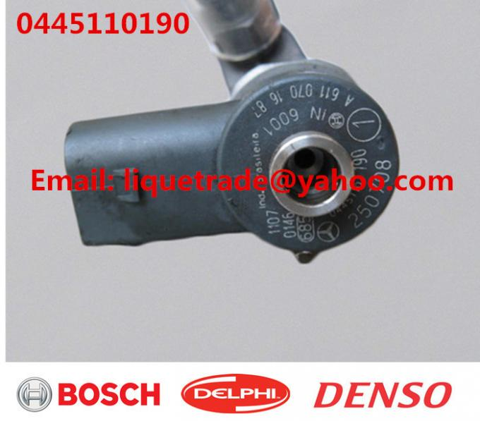 BOSCH Original Common Rail Injector 0445110190 0445110189 for Mercedes Benz A6110701487 A6110701687
