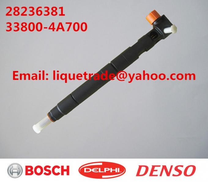 DELPHI Original and New Common rail injector 28236381 for HYUNDAI Starex 33800-4A700