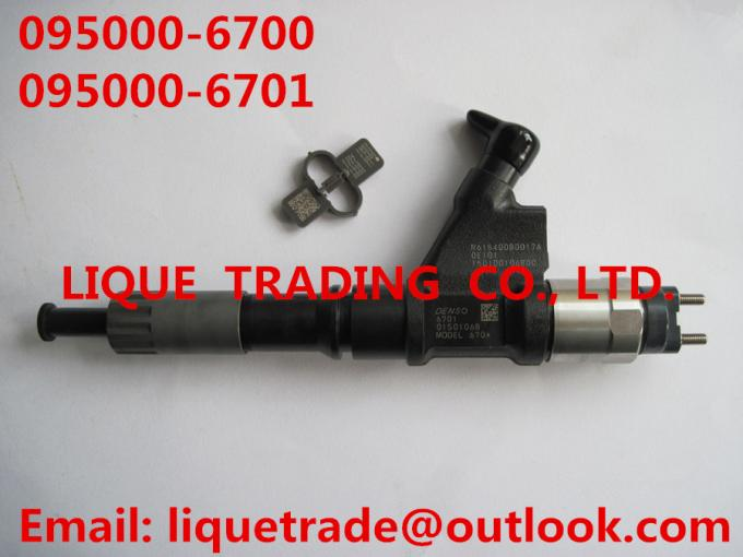 DENSO common rail injector 095000-6700,095000-6701 for SINOTRUK HOWO VG61540080017A