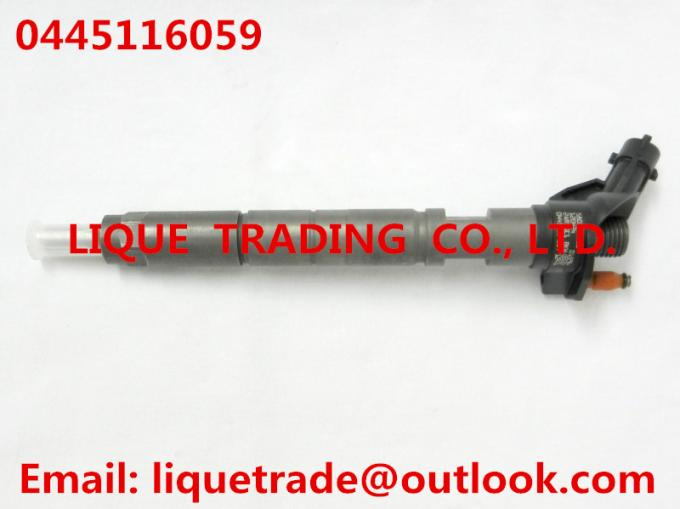 Genuine piezo injector 0445116059 for FIAT IVECO 580540211/504341488/504385557