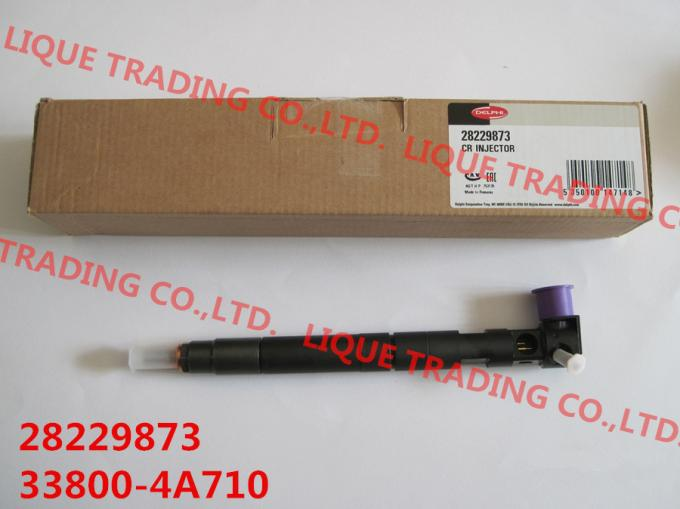 DELPHI 33800-4A710 Genuine and New Common rail injector 28229873 / 33800-4A710 / 338004A710 for HYUNDA KIA