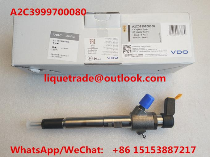 VDO Common rail injector 92333 A2C3999700080 for 3.2L 7001105C1