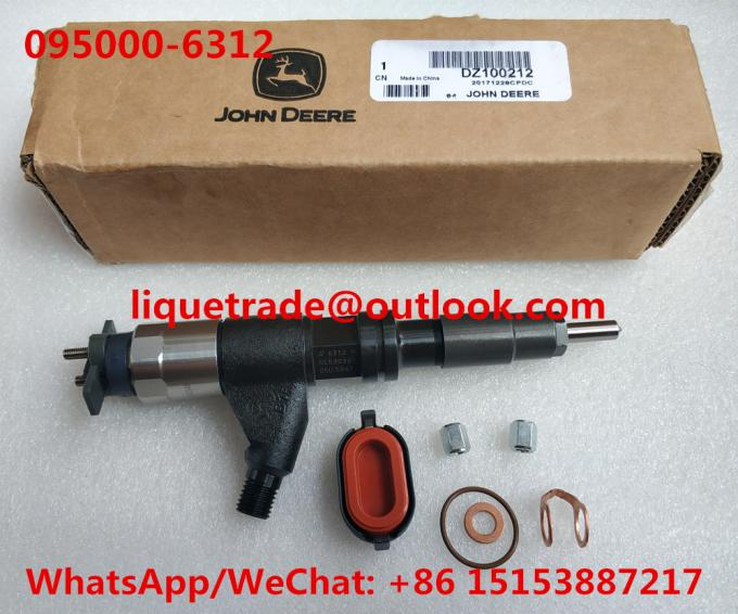 DENSO fuel injector 095000-6310 , 095000-6311 , 095000-6312 for JOHN DEERE 4045 RE530362, RE546784, RE531209