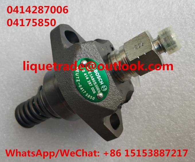 BOSCH original pump 0414287006 , 0 414 287 006 , 04175850 , 0417 5850 for Deutz