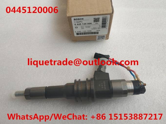 BOSCH INJECTOR 0445120006 , 0 445 120 006 ,  0445 120 006 , ME355278 for MITSUBISHI 6M70