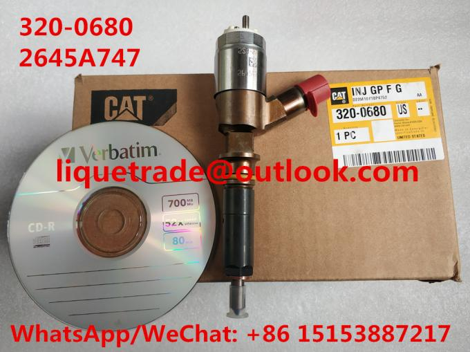 CAT Fuel Injector 320-0680 , 3200680 For Caterpillar CAT 2645A747