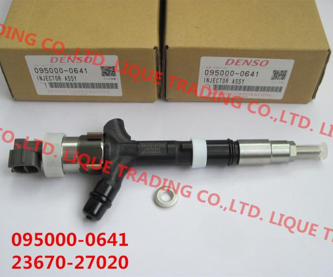 DENSO Genuine and New CR injector 095000-0640, 095000-0641, ,9709500-064  for TOYOTA 23670-27020, 23670-29025