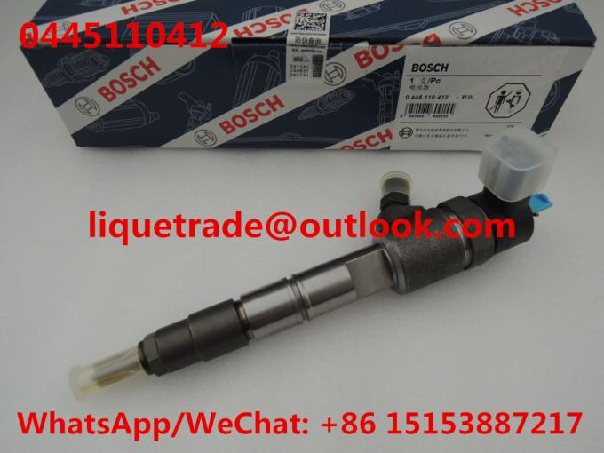 BOSCH Common rail injector 0445110412 , 0 445 110 412  FUEL INJECTOR 0445 110 412