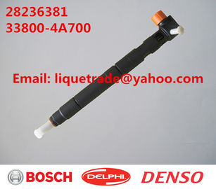 China DELPHI Original and New Common rail injector 28236381 for HYUNDAI Starex 33800-4A700 supplier