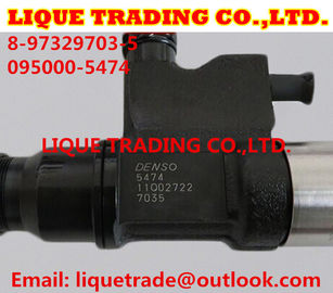 China DENSO CR Injector 095000-547# / 095000-5474 / 095000-5471/ 8-97329703-5 /8-97329703-1 supplier