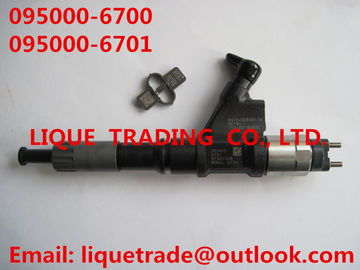 China DENSO common rail injector 095000-6700,095000-6701 for SINOTRUK HOWO VG61540080017A supplier