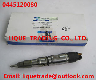 China Genuine and New Common rail injector 0445120080 for DAEWOO DOOSAN DL06S 65.10401-7004A supplier