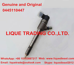 China Genuine and original Fuel Injector 0445110447 , 0 445 110 447 , fit FAW , DACHAI supplier