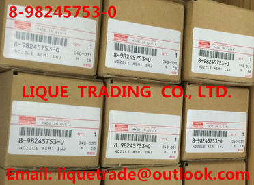 China 8982457530 / 8-98245753-0 Original and New Common rail injector 8982457530 / 8-98245753-0 for ISUZU Trooper 4JX1 3.0L supplier