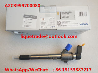 China VDO Common rail injector 92333 A2C3999700080 for 3.2L 7001105C1 supplier