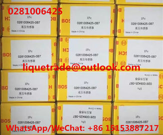 China BOSCH Common Rail Pressure Sensor 0281006425 , 0 281 006 425 Original and New supplier