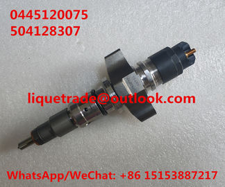 China BOSCH original CR Injector 0445120075 , 0 445 120 075 , 504128307, 2855135 supplier