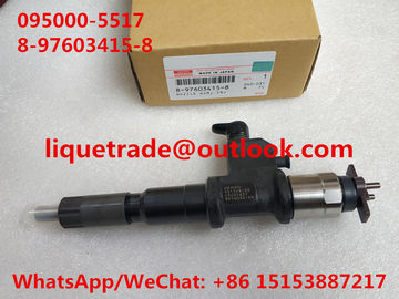 China DENSO Common Rail Injector 095000-5517 / 095000-5516 / 095000-5511 / 095000-4158 ISUZU 8-97603415-8 / 8976034158 supplier