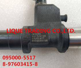 China DENSO INJECTOR 095000-5517 / 095000-4158 ISUZU 8-97603415-8 / 8976034158, 8-97603415-7 / 8976034157 supplier