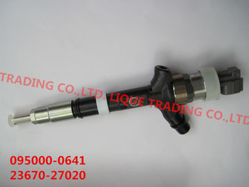 China DENSO Genuine and New CR injector 095000-0640, 095000-0641, ,9709500-064  for TOYOTA 23670-27020, 23670-29025 supplier