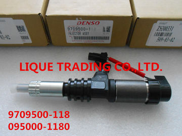 China DENSO common rail injector 095000-1180 , 095000-1181 , 9709500-118 supplier