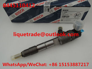 China BOSCH Common rail injector 0445110412 , 0 445 110 412  FUEL INJECTOR 0445 110 412 supplier