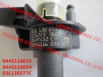 China BOSCH Piezo Fuel Injector 0445116035 , 0445116034 , 0 445 116 035 , 0 445 116 034 for VW 03L130277C supplier
