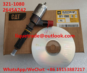 China CAT Common Rail Injector 321-1080 , 3211080 , 2645A742 For Caterpillar CAT Injector 321 1080 supplier