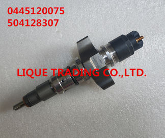 China BOSCH original CR Injector 0445120075 , 0 445 120 075 , 0445 120 075 , 504128307, 2855135 supplier