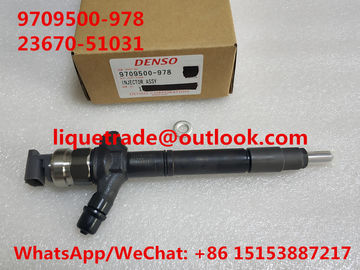 China DENSO Common rail injector 095000-9780, 0950009780 , 9709500-978 for TOYOTA 23670-51031 , 23670-51030, 23670-59035 supplier