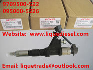 China DENSO Common Rail Injector 9709500-522 095000-5224 095000-5226 095000-5220 for HINO E13C factory
