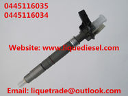 China Genuine & New Piezo Fuel Injector 0445116035 0445116034 for VW 03L130277C factory