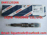 China BOSCH Common rail fuel injector 0445120266 for WEICHAI 612630090012, 612640090001 factory