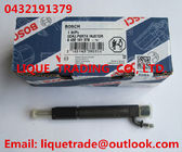 China BOSCH Genuine and New injector 0432191379 / 0 432 191 379 factory