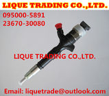 China DENSO Common Rail Injector 095000-5890 , 095000-5891, 9709500-589 for TOYOTA 23670-30080, 23670-39135 factory