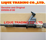 China DENSO Common rail injector 095000-8100 095000-8101 for HOWO A7 VG1096080010 factory