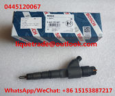 China BOSCH Common Rail Injector 0445120067 , 0 445 120 067 , 04290987 factory