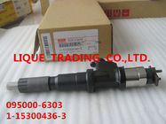 DENSO CR Injector 095000-6303,9709500-6300 , 095000-630# , 095000-4363 for 1-15300436-0 , 1-15300436-3 , 1153004363