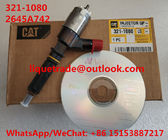 China CAT Common Rail Injector 321-1080 , 3211080 , 2645A742 For Caterpillar CAT Injector 321 1080 company