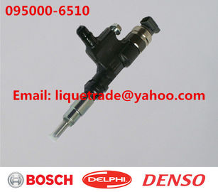 China DENSO common rail injector 095000-6510, 9709500-651 for TOYOTA 23670-79016, 23670-E0081 factory