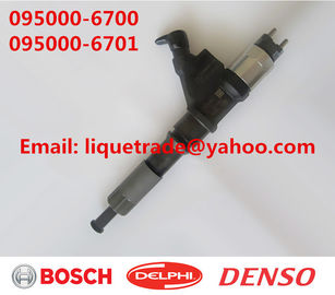 China DENSO common rail injector 095000-6700,095000-6701 for SINOTRUK HOWO VG61540080017A factory