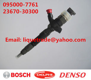 China DENSO injector 095000-7760, 095000-7761, 095000-7750 for TOYOTA 23670-30300,23670-39275 factory