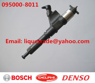 China DENSO Genuine & New common rail injector 095000-8010, 095000-8011 for HOWO A7 VG1246080051 factory