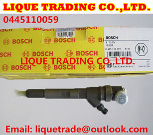 China BOSCH Common Rail injector 0445110059 / 0 445 110 059 Chrysler 05066 820AA / VMI 15062036F factory