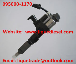 China DENSO Common rail injector 095000-1170, 095000-1171 for MITSUBISHI FUSO 6M60T ME300330 factory