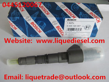 BOSCH Genuine & New Common Rail Injector 0445120067 for DEUTZ 04290987,VOLVO 20798683