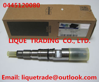 China Genuine and New Common rail injector 0445120080 for DAEWOO DOOSAN DL06S 65.10401-7004A factory