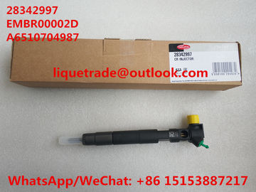 China DELPHI Common rail injector EMBR00002D , R00002D , 28342997, 28348371 for Mercedes Benz A6510700587, A6510704987 factory