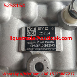BYC pump 5258154 , CPES6P120D120RS , 10404716046 , 10 404 716 046 , Cummins 11 415 186 003 , 11415186003