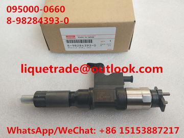 DENSO Common Rail Injector 095000-0660 ,  8982843930 , 8-98284393-0 for ISUZU 4HK1, 6HK1